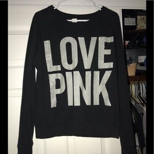 Women's Victoria secret pink sweatshirt medium